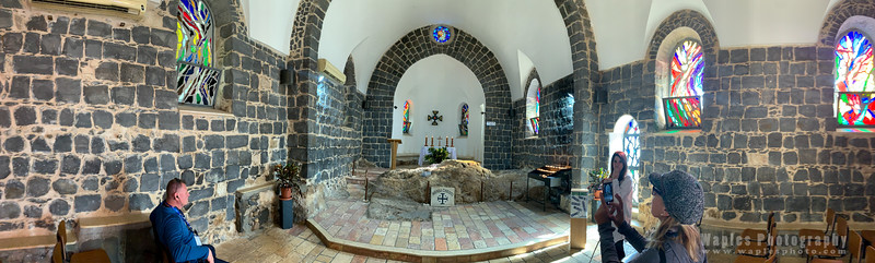 Chapel by the Sea of Galilee