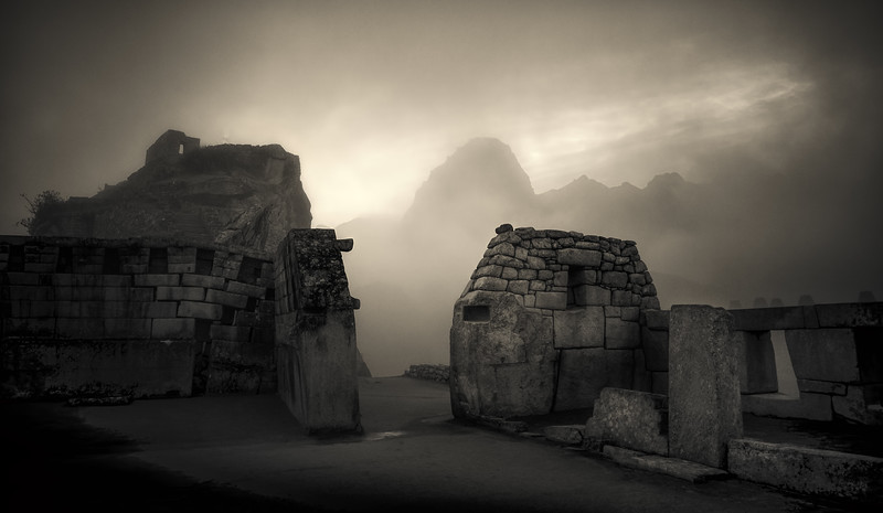 Misty Machu Pucchu Morning