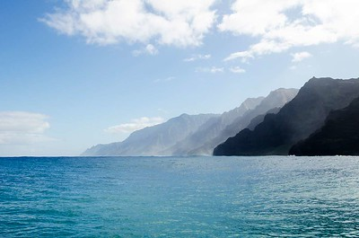 Na Pali Coast water