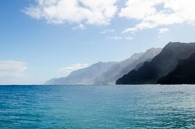 Na Pali Coast water