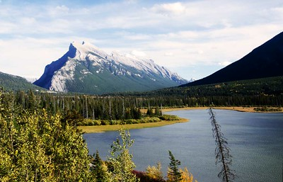 Mt Rundle pano