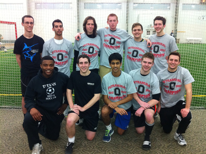 Men's B Indoor Soccer Champions