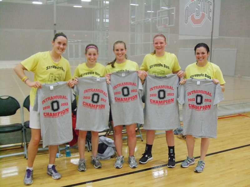 Women's League Champs-Struggle Bus