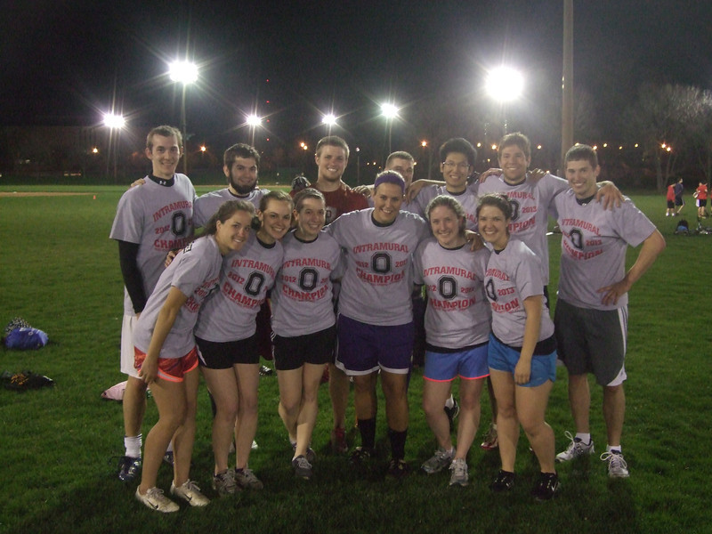Co-Rec Ultimate Disc Champions: Back That Up