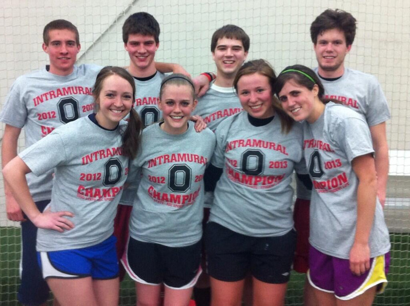 Indoor Soccer Co-Rec B Champs: Kick & Giggles