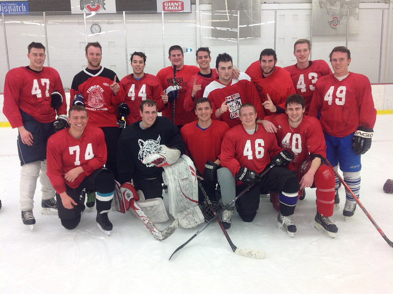 Intramural Ice Hockey Champions, the Blues