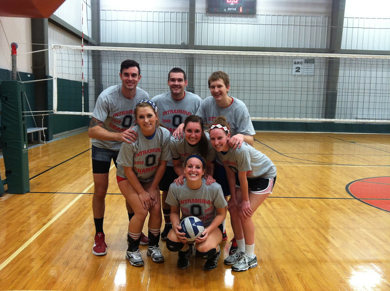 Indoor Volleyball Champs: Protective Passers