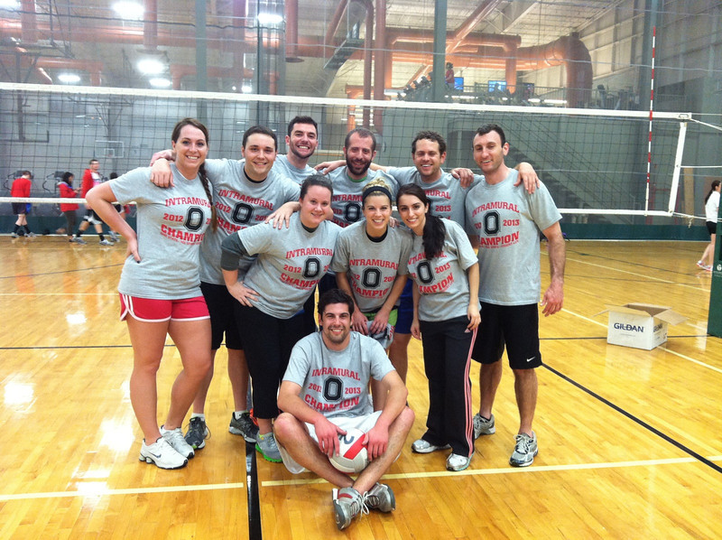Indoor Volleyball Champs: Taco