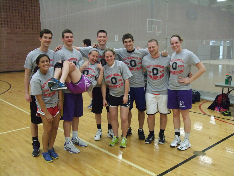 Co-Rec A League Basketball Champs-Lynnsanity