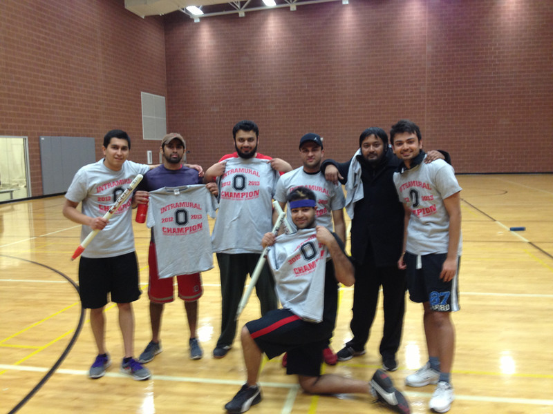 Intramural Cricket Champions-Badmash Company