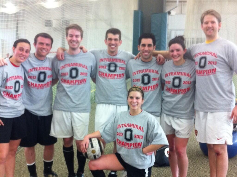 Co-Rec A Indoor Soccer Champs: Fisher FC