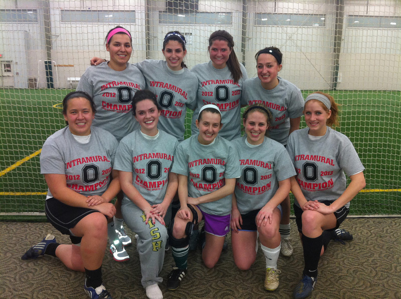Women's Indoor Soccer Champions