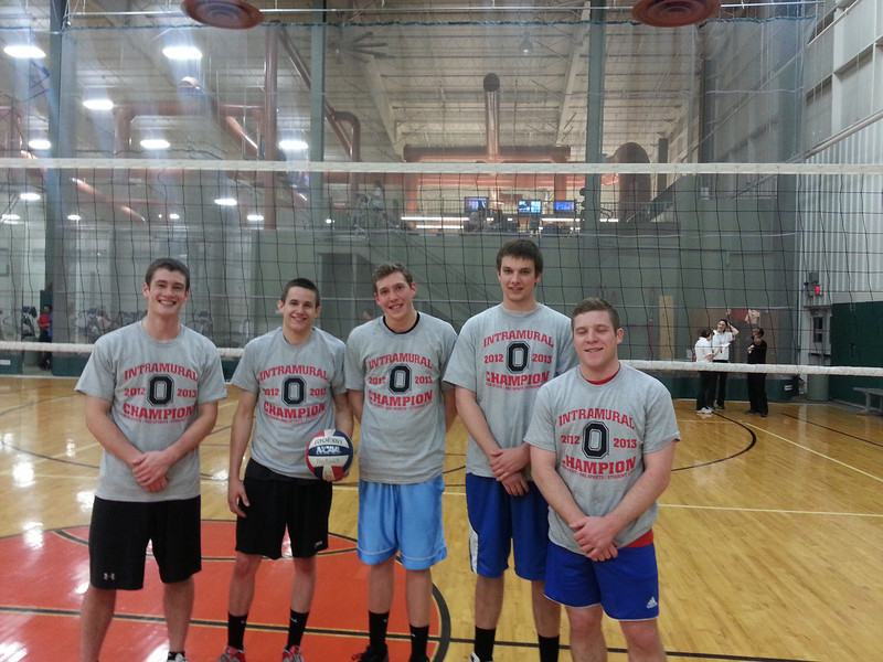 Indoor Volleyball Champs: Tornadoes