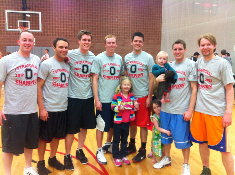 Grad/Faculty League Champions-Ball Handlers