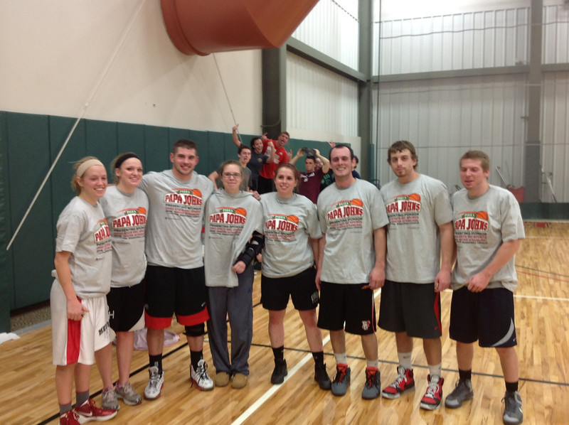 Pappa Johns Intramural Basketball