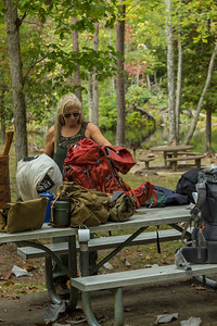 Intro to Backpacking Workshop @ Pickett CCC Memorial State Park 10/7/17