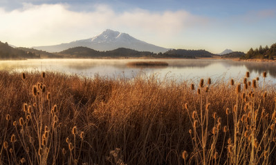 Shasta Cascade Morning Light