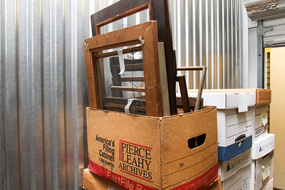Misc old frames - House goods in storage 2014-15