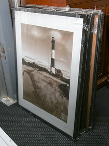 (4) 24x30 frames 1 glass cracked- House goods in storage 2014-15r