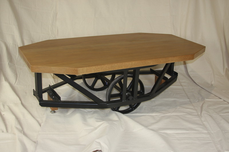 African Cherry on manufacturing cart