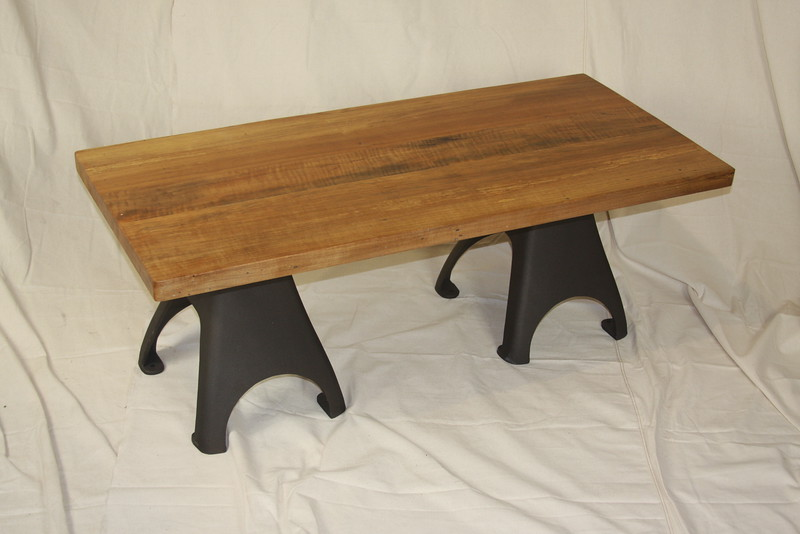 African Cherry Pylon Table