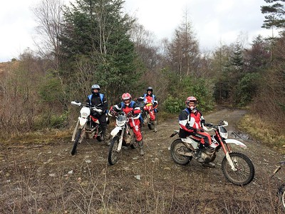 Inveraray 2017 off-road trip