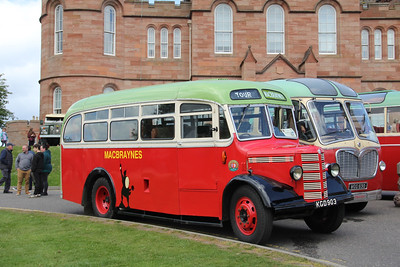 Preserved KGD903 Castle Ramparts Inverness 2 May 19