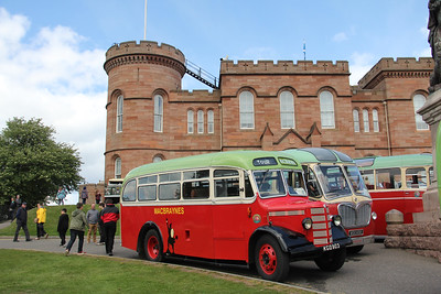 Preserved KGD903 Castle Ramparts Inverness 1 May 19