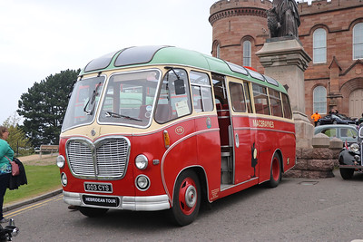 Preserved 603CYS Inverness Castle 1 May 17