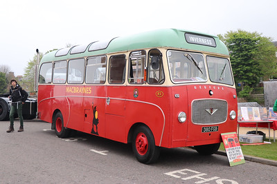 Preserved 380FGB Inverness Castle 1 May 17