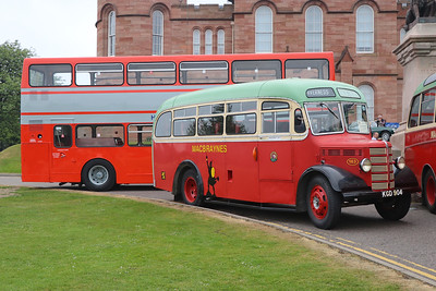 Preserved KGD904 Inverness Castle 1 May 17