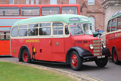 Preserved KGD904 Inverness Castle 2 May 17