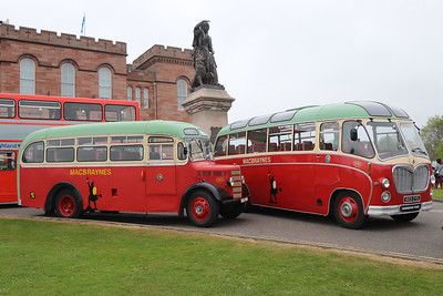 Preserved KGD904_603CYS Inverness Castle May 17