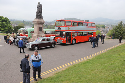 Preserved B892UAS Inverness Castle 7 May 17