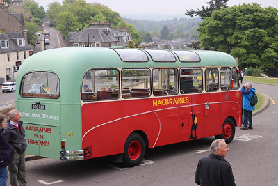 Preserved 380FGB Inverness Castle 3 May 17