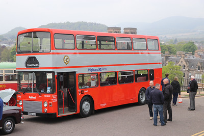 Preserved B892UAS Inverness Castle 2 May 17
