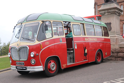 Preserved 603CYS Inverness Castle 2 May 17
