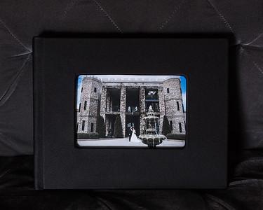 GENUINE LEATHER COVER W/ Optional Cameo Window