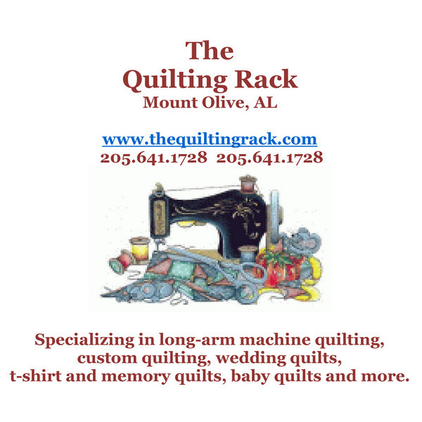 We're proud to refer you to The Quilting Rack!  Custom made baby quilts, signature wedding quilts and much more.  Take a look at thier website.