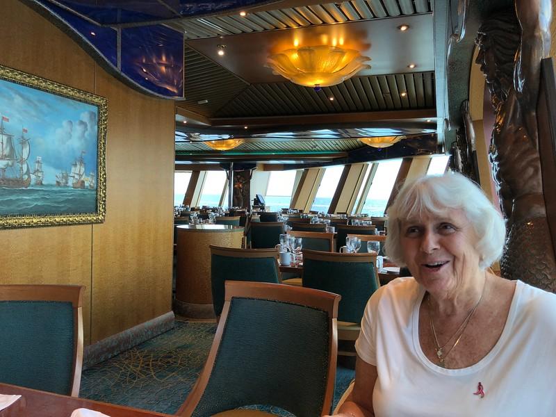 Rita in dining room