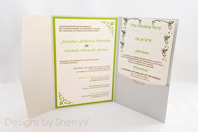 Invitation Designs by SherryV