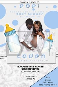 Exavier Baby Shower Invite2