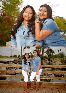 Evelynne y Joselynne 2B