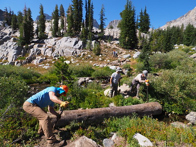 Wilderness Volunteers: 2016 Lake Ediza, Ansel Adams Wilderness, Inyo National Forest (California)