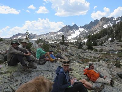 Wilderness Volunteers: 2017 Purple Lakes, John Muir Wilderness, Inyo National Forest (California) Service Trip