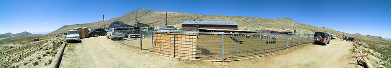 "Barcroft Laboratory White Mountain Research Station Open house and Parking Lot and Sheep Pens 2006-08-06  <a href=""http://www.dbdimages.com/photos/88654795_hJna2-O.jpg""TARGET=""blank"">View large in another window.</a> Use your viewer's zoom function if necessary."
