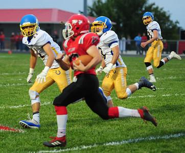 Iola Football at Anderson County 9/21