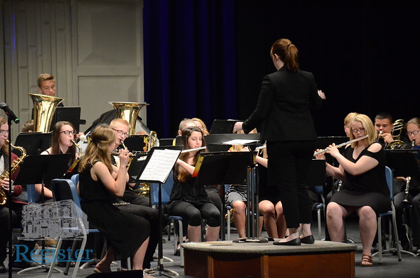 Iola High School Concert/Jazz Band Performance