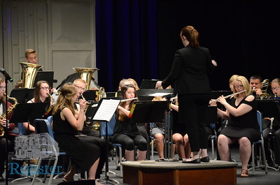 Iola High School Concert/Jazz Band Performance