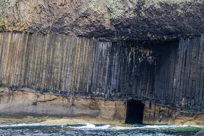 A lesser cave of Staffa